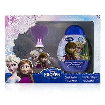 エアバルインターナショナル Disney Frozen Coffret: Eau De Toilette Spray 100ml/3.4oz + Shower Gel & Shampoo 300ml/10.2oz  2pcs