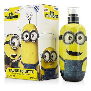 Air Val International Minions ماء تواليت سبراي  100ml/3.4oz