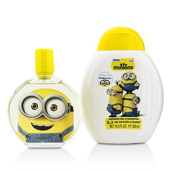 Minions Coffret: Eau De Toilette Spray 100ml/3.4oz + Shower Gel & Shampoo 300ml/10.2oz  2pcs