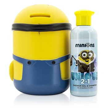 Minions Coffret: Shower Gel & Shampoo 200ml/6.7oz + Money Box  2pcs