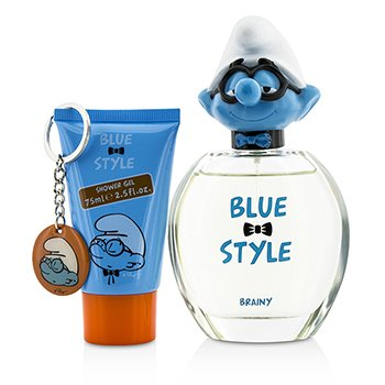 Zestaw Brainy Coffret: Eau De Toilette Spray 100ml/3.4oz + Shower Gel 75ml/2.5oz + Key Chain  3pcs