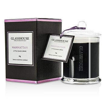 Triple Scented Candle - Manhattan (Little Black Dress) 60g