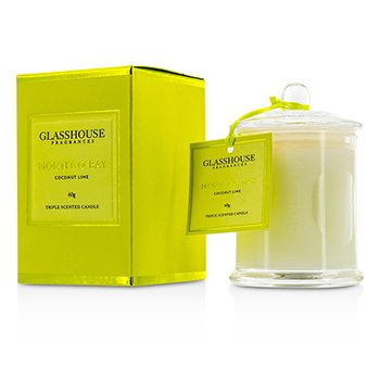 Triple Scented Candle - Montego Bay (Coconut Lime) 60g