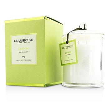 Glasshouse Triple Scented Candle - Saigon (Lemongrass)  350g