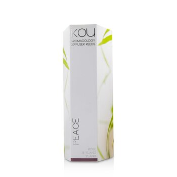 Aromacology Diffuser Reeds - Peace (Rose & Ylang Ylang - 9 months supply)  175ml