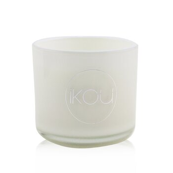 iKOU Eco-Luxury Aromacology Natural Wax Candle Glass - De-Stress (Lavender & Geranium)  (2x2) inch