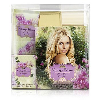 Jessica Simpson Vintage Bloom Coffret: Eau De Parfum Spray 100ml/3.4oz + Eau De Parfum Spray 7.5ml/0.25oz + Loción Corporal 90ml/3oz  3pcs