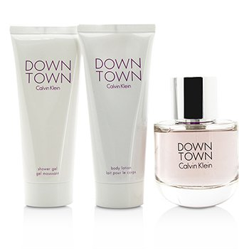 Downtown Coffret: Eau De Parfum Spray 90ml/3oz + Body Lotion 100ml/3.4oz + Shower Gel 100ml/3.4oz  3pcs