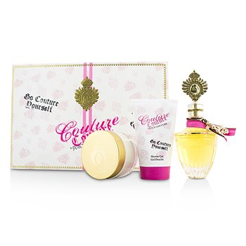 Couture Couture Coffret: Eau De Parfum Spray 100ml/3.4oz + Body Creme 100ml/3.4oz + Shower Gel 125ml/4.2oz  3pcs