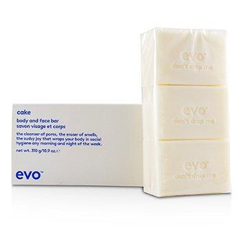 Evo סבון מוצק לפנים ולגוף קייק  310g/10.93oz