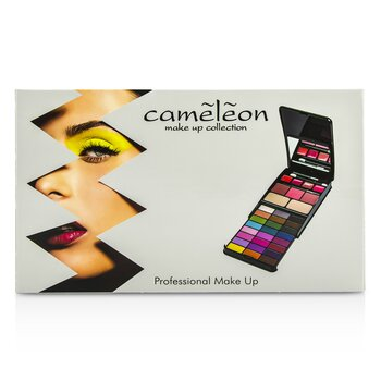 MakeUp Kit G2210A (24x Eyeshadow, 2x Compact Powder, 3x Blusher, 4x Lipgloss)  -