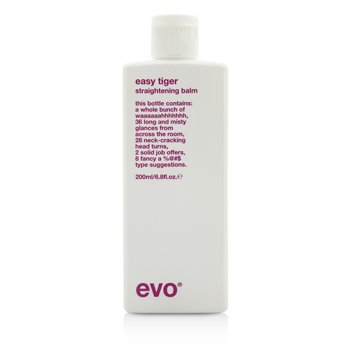 Easy Tiger Straightening Balm (For All Hair Types, Especially Thick Coarse Hair) 200ml/6.8oz