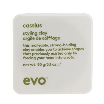 Cassius Styling Clay (For All Hair Types, Especially Thick, Coarse Hair)  90g/3.1oz