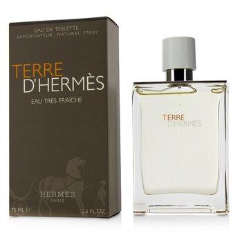 Terre D'Hermes Eau Tres Fraiche Eau De Toilette Spray 75ml/2.5oz