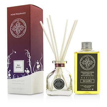 The Candle Company Reed Diffuser with Essential Oils - Plum Pudding  100ml/3.38oz