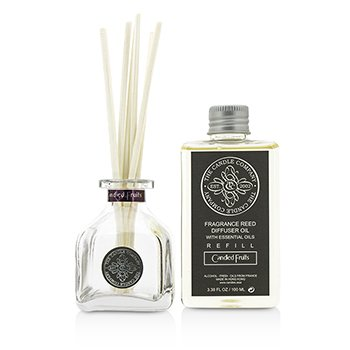 Reed Diffuser with Essential Oils - Candied Fruits 100ml/3.38oz