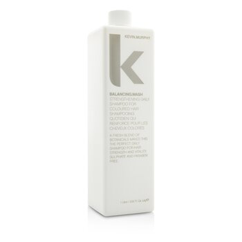 Balancing.Wash (Strengthening Daily Shampoo - For Coloured Hair)  1000ml/33.6oz