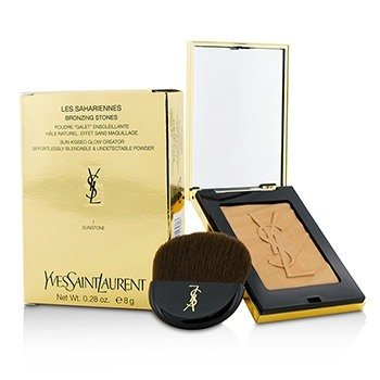 Yves Saint Laurent Les Sahariennes Bronzing Stones Sun Kissed Glow Creator - # 1 Sunstone (Light)  8g/0.28oz