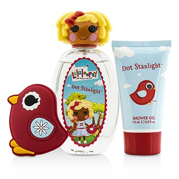 Dot Starlight Cute Coffret: Eau De Toilette Spray 100ml/3.4oz + Shower Gel 75ml/2.5oz + French Barrette  3pcs