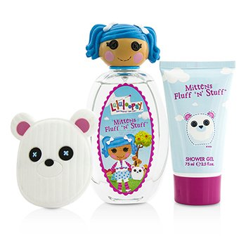 Mittens Fluff 'N' Stuff Cute Coffret: Eau De Toilette Spray 100ml/3.4oz + Shower Gel 75ml/2.5oz + French Barrette  3pcs