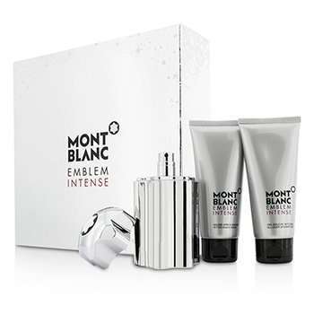 Emblem Intense Coffret: Eau De Toilette Spray 100ml/3.3oz + Shower Gel 100ml/3.3oz + After Shave Balm 100ml/3.3oz  3pcs