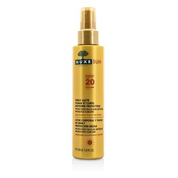 Nuxe Nuxe Sun Milky Spray For Face & Body Medium Protection SPF 20  150ml/5oz