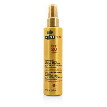 Nuxe Nuxe Sun Spray Leche para Rostro & Cuerpo Protecci�n Media SPF 20  150ml/5oz