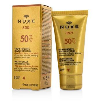 ครีมกันแดด Nuxe Sun Melting Cream High Protection สำหรับผิวหน้า SPF 50  50ml/1.5oz