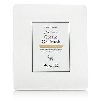 TonyMoly Naturalth Goat Milk Mască Gel Cremă  5x25g/0.88oz