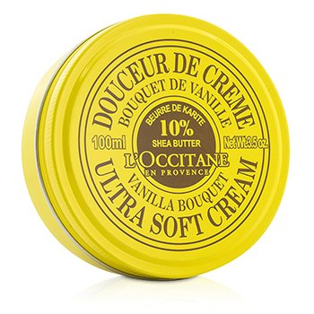 ロクシタン Shea Butter Ultra Soft Cream - Vanilla Bouquet  100ml/3.5oz