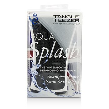 Aqua Splash Detangling Shower Brush - # Black Pearl (For Wet Hair)  1pc