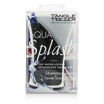 Tangle Teezer Aqua Splash Detangling Shower Brush - # Black Pearl (For Wet Hair)  1pc