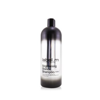 Label.M Brightening Blonde Shampoo (Gently Cleanses and Strengthens, Brightens Colour For Glistening Blonde Tones)  1000ml/33.8oz