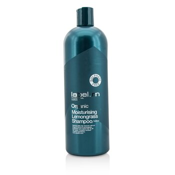 Organic Moisturising Lemongrass Shampoo (Calming Daily Hair Cleanser For All Hair Types)  1000ml/33.8oz