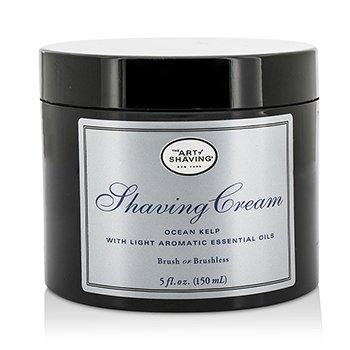 The Art Of Shaving Shaving Cream - Ocean Kelp (Unboxed)  150ml/5oz