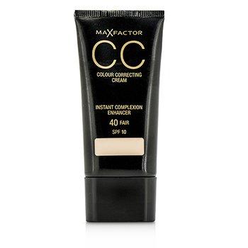 Max Factor CC Colour Correcting Cream SPF10 - #40 Fair  30ml/1oz