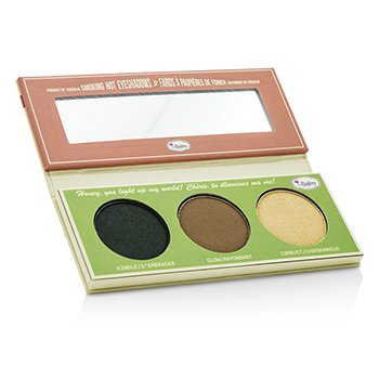 Smoke Balm Smokey Eye Palette (3x Eyeshadow): Kindle/ Glow/ Combust 10.2g/0.36oz