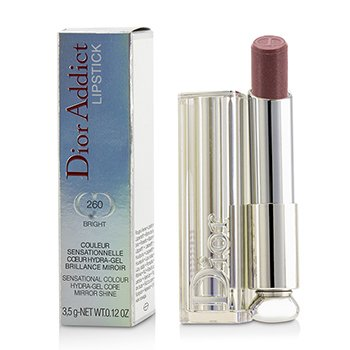 Christian Dior Dior Addict Hydra Gel Core Mirror Shine Lipstick - #260 Bright  3.5g/0.12oz