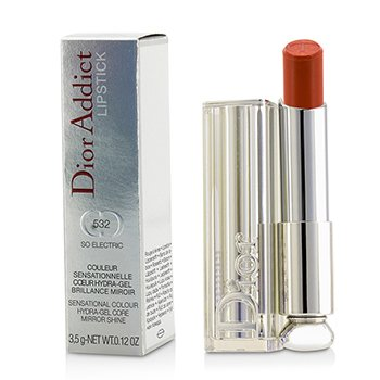 Christian Dior Dior Addict Hydra Gel Core Mirror Shine Lipstick - #532 So Electric  3.5g/0.12oz