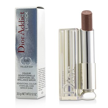 Christian Dior Dior Addict Hydra Gel Core Mirror Shine Lipstick - #535 Tailleur Bar  3.5g/0.12oz