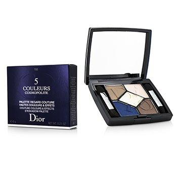 Christian Dior 5 Couleurs Cosmopolite Eyeshadow Palette (Limited Edition) - # 766 Exuberante  6g/0.21oz