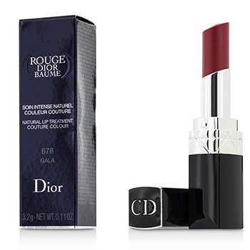 Christian Dior Rouge Dior Baume Natural Lip Treatment Couture Colour - # 678 Gala  3.2g/0.11oz