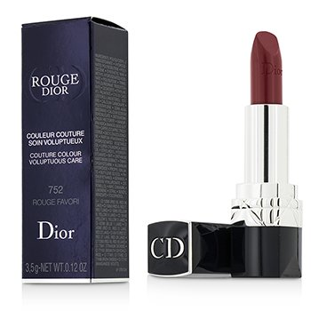 Christian Dior Rouge Dior Couture Colour Voluptuous Care - # 752 Rouge Favori  3.5g/0.12oz