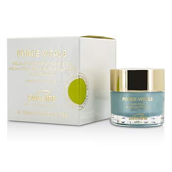 Swissline Force Vitale Aqua-Vitale De-Puffing Eye Gel  15ml/0.5oz