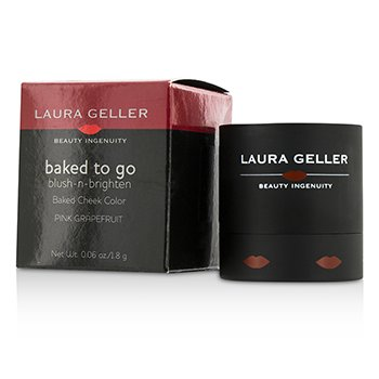 Laura Geller Baked To Go Blush N Brighten Fard de Obraz - #Pink Grapefruit  1.8g/0.06oz