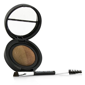 Baked Brow Tones With Double Ended Brow Brush  1g/0.03oz