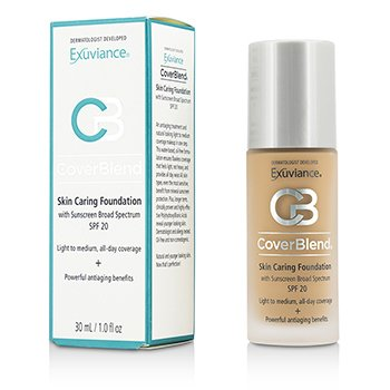 Exuviance  CoverBlend Skin Caring Base SPF20 - # Honey Sand  30ml/1oz