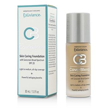 修飾護膚粉底液 SPF20 CoverBlend Skin Caring Foundation SPF20  30ml/1oz