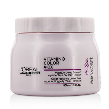 L'Oreal Professionnel Expert Serie - Vitamino Color A.OX Color Radiance Protection+ Perfecting Mascarilla  500ml/16.9oz