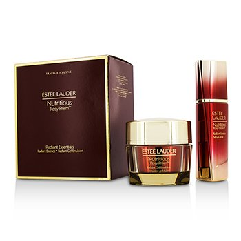 Estée Lauder Nutritious Rosy Prism Set: Radiant Essence 30ml + Radiant Gel Emulsion 50ml  2pcs